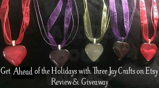 Three Jay Crafts Heart Pendant Necklaces   Parenting Healthy