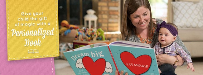 Personalized Valentine's Books