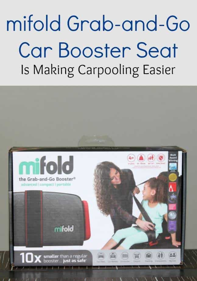 Mifold Grab And Go Car Booster Seat Is Making Carpooling Easier