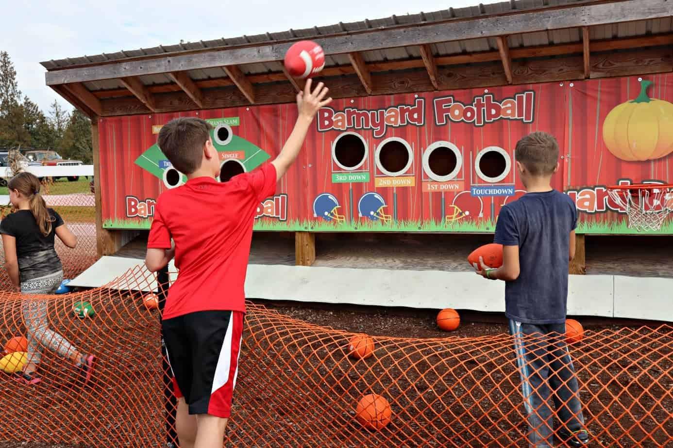 Barnyard Football