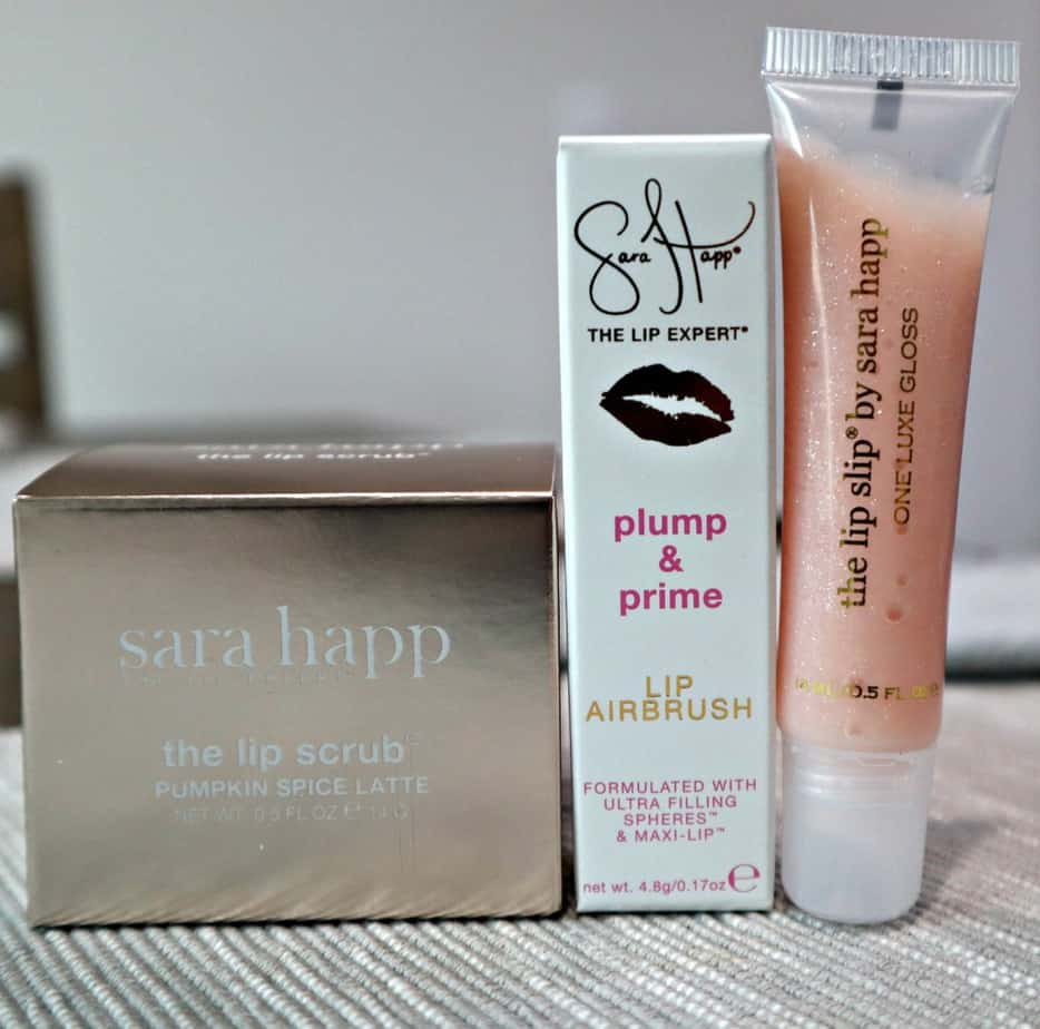 Sara Happ Pumpkin Spice Lip Scrub Kit