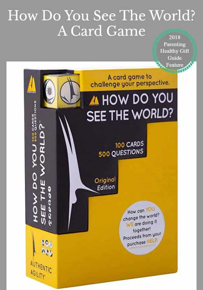 How Do You See The World? Ice Breaker Card Game to Encourage Open Discussion