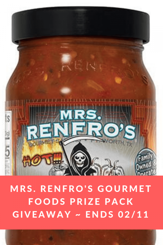 Mrs. Renfro's Gourmet Foods Prize Pack Giveaway _ Ends 02_11