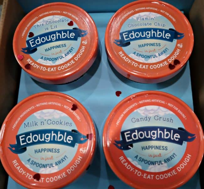 Be Mine Box for Valentine's Day Edible Cookie Dough