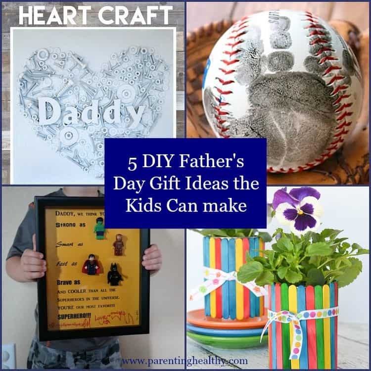 5 DIY Father's Day Gift Ideas The Kids Can Make