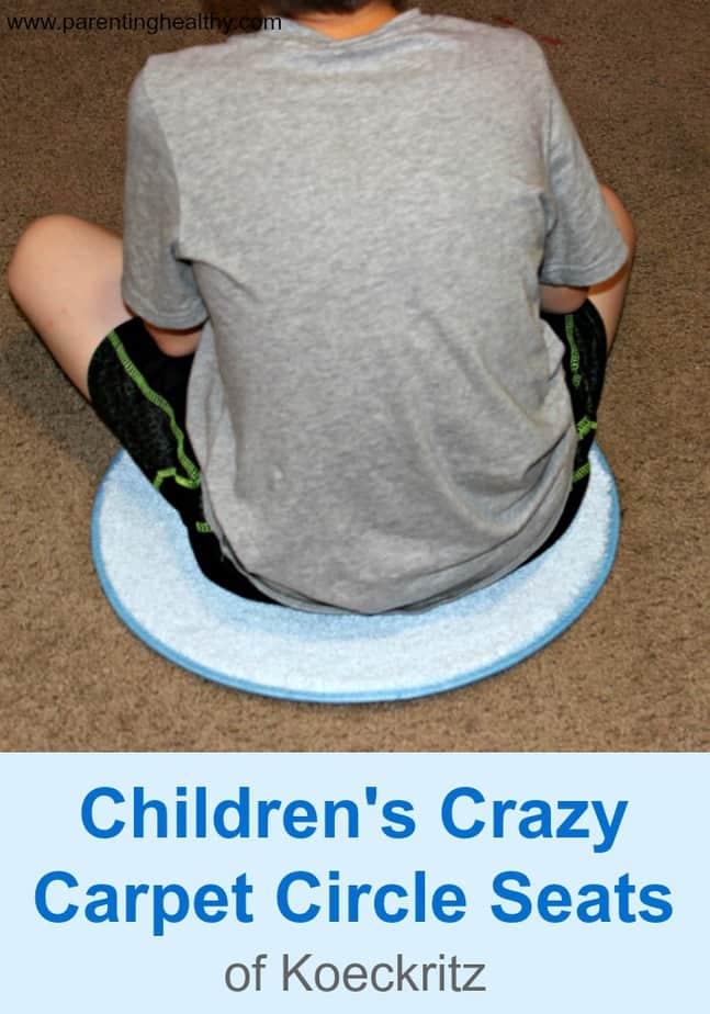 Children S Crazy Carpet Circle Seats Review