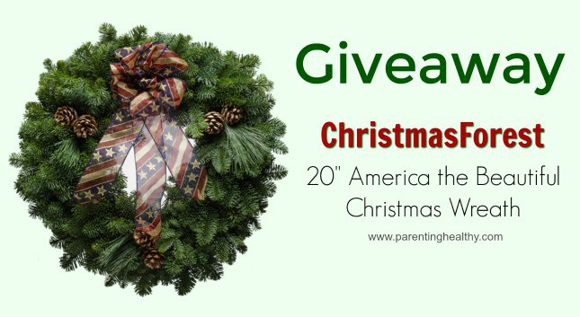 Christmas wreaths giveaway
