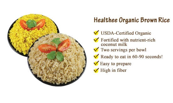 healthee brown rice
