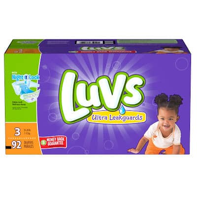 Save on Luvs Diapers next week and #Giveaway