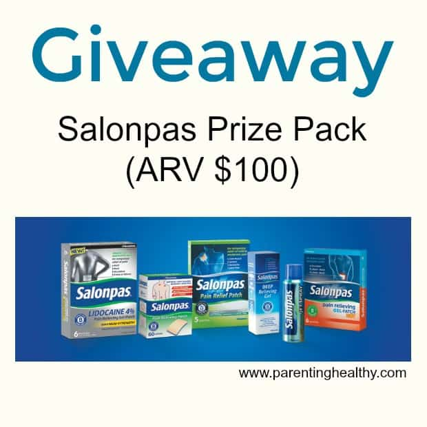 Salonpas natural pain relief