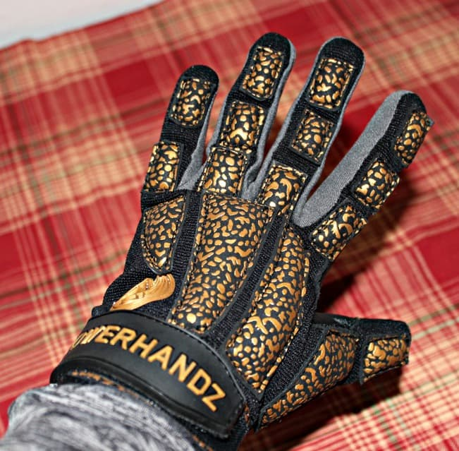 sports gloves weighted