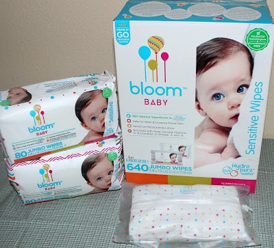 bloom BABY Wipes combo pack