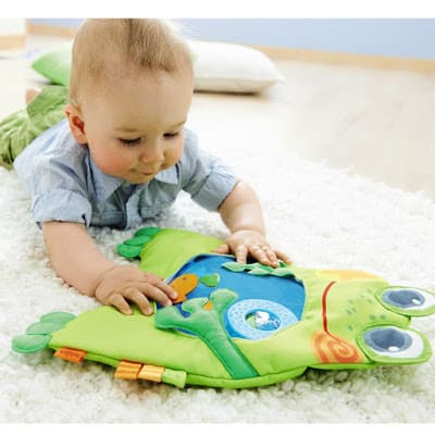 Little Frog Water Play Mat tummy time