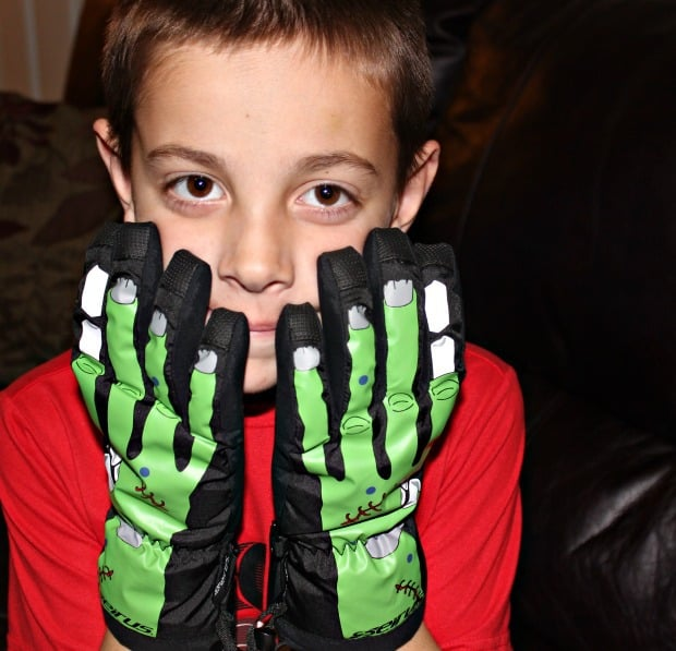 junior gloves seirus style