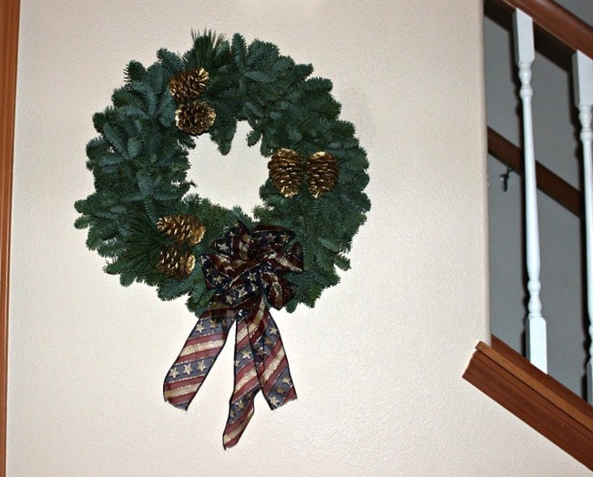 America the Beautiful Christmas Wreaths